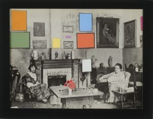 "Collage series titled ""Color in Context"" by Ruth Lozner"